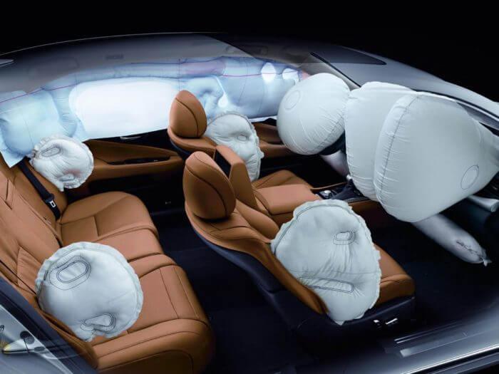 подушки безопасности в авто