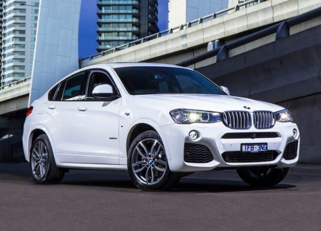 авто BMW X4 xDrive